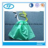 Sacs d'ordures en plastique personnalisés par HDPE de cordon