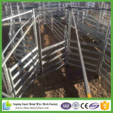 電流を通された家畜の金属の馬の塀のパネル
