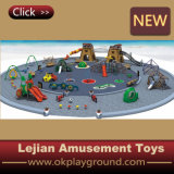 2014 Escalade aire de jeux pour enfants en plastique de haute qualité