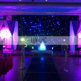 LED-gordijngordijn Bruiloft-achtergrond sterrengordijn