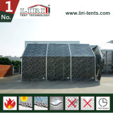 Bewegliche Hangar-Zelt-Zelle mit Augenlid-Tür-Öffnung