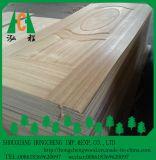 La peau en bois normale de porte de placage, forces de défense principale a moulé la peau de porte