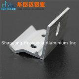 L'aluminium anodisé profile des profils d'aluminium de Matt