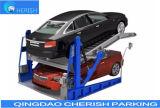 Kippen des Auto-Parken-Systems durch System Doppel-ZylinderLifting