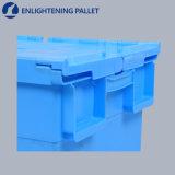 Escaninhos plásticos materiais plásticos dos PP da caixa de armazenamento com punhos