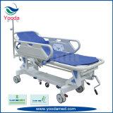 Carrinho de transferência de pacientes para sala de cirurgia