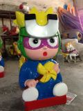 Bleu pour les enfants Super homme kiddie ride (LK55)