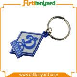 Trousseau de clés de PVC de logo de modèle de propriétaire