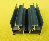 Polvo de aluminio del perfil de la protuberancia del SGS que cubre la rotura termal
