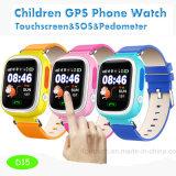 도움 D15를 위한 Sos 단추를 가진 최신 판매 아이 GPS 추적자 시계