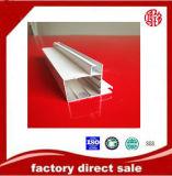 Profilo bianco del rivestimento della polvere dell'espulsione di alluminio per materiale da costruzione
