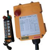 주문을 받아서 만들어진 단 하나 속도 Telecrane 산업 무선 원격 제어 F24-10s 기중기 호이스트 통제