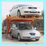 Польза 2 столбов домашняя опрокидывая подъем подъема автомобиля оборудования стоянкы автомобилей
