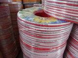 Гибкий рукав воды брызга давления PVC красный высокий