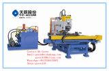 Máquina de perfuração e de marcação da placa hidráulica do CNC