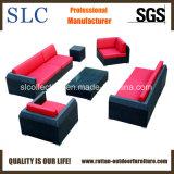 庭の藤のソファーの屋外の藤のソファー(SC-B6018-B)