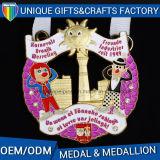 カスタマイズされる記念品のためのダイカストの合金の金属メダルを