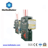 Máquina hidráulica vertical de la embaladora para el reciclaje plástico