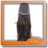 Peluca de pelo de la peluca brasileña del frente del cordón