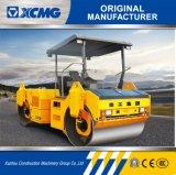 XCMGの販売のための公式の製造業者Xd81e 8tonの二重ドラムゴム製タイヤの道ローラー