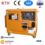 5kw Generador Diesel con presión de aceite Alam