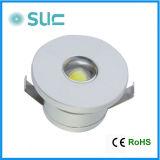 최신 판매 1W 알루미늄 합금 LED 천장 빛 (Slt-02)