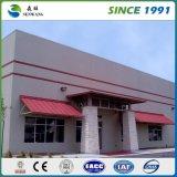 Instalación de la estructura de acero con estándar prefabricado