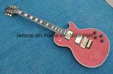 Металлическая красная гитара Les Lp качества Floydrose цвета электрическая
