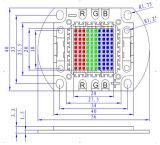 赤いGreen Blue Highquality High Power RGB 100W LED