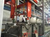Chapeamento alcalino automático da cremalheira/unidade alcalina automática da cremalheira