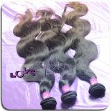 100% virgen peruana Remy Hair Extension el cuerpo con Ombre Color
