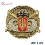 Gift를 위한 아연 Alloy Soft Enamel Souvenir Plane Coin