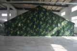 Le commandement militaire tente les tentes en toile imperméable en polyester