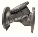 Pieza de acero fundido compleja de las piezas/precisión del CNC de la alta precisión que trabaja a máquina