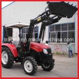 Tz08d cargadora frontal con 4-en-1 la cuchara, el tractor con pala cargadora frontal (Aprobación CE)