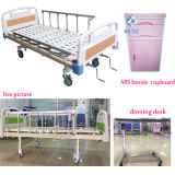 Fornitore del letto di ospedale, doppia base storta, base di assistenza medica