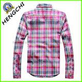 Рубашки 100% людей высокого качества хлопка (H-004)