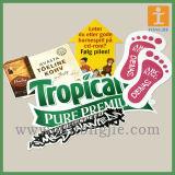 Окна, пищевую, табличка, табличка с указанием пола графическом окне наклейка для магазина (TJ-FL-003)