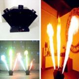 Máquina colorida da flama do incêndio do pulverizador do efeito de estágio de 3 cabeças