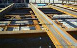 Estructuras de acero con los tanques de agua