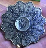 Fileur classique de main en métal de fileur de personne remuante de jeu de buveur de boissons ou de défi