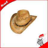 La rafia sombrero de vaquero, sombrero de vaquero, sombrero de paja, vaquero sombrero de paja