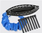 40inch. Миниый сложенный Trampoline йоги, здоровый Trampoline, оборудование зрелищности