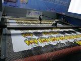 打抜き機を追跡する印刷されたファブリック自動端
