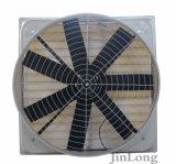 Ventilador de exaustão de fibra de vidro para eletrônicos / fábrica de produtos químicos