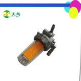 Filter van de Brandstof van de Kop van de Dieselmotor van Sichuan Emei Em185 de Plastic