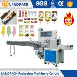 Macchina orizzontale automatica di imballaggio per alimenti per l'imballaggio dello spuntino del biscotto del pane