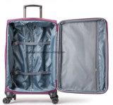 """Il tessuto pratico 20 di Oxford di buon disegno """", 24 """", insieme universale della valigia dei bagagli di corsa delle 28 """" rotelle, fabbrica su ordinazione discute l'alloggiamento sacchetto filtro del carrello per lo scatto"""