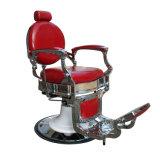 호화스러운 빨간 이발소용 의자 제국 작풍 의자 살롱 가구