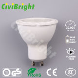 6W Bombilla LED GU10 Chip COB regulable LÁMPARA DE LED Spotlight
